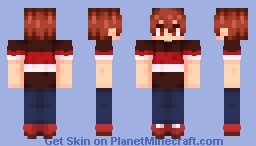 [Ensemble Stars] Chiaki Morisawa ~Casual (Summer) Outfit~ Minecraft Skin