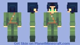 gilbert bougainvillea Minecraft Skin
