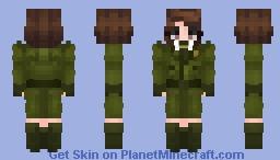Agent Carter (Margaret 'Peggy' Carter) Marvel Minecraft Skin
