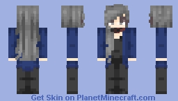 Female Jimin (Park Jimin) ~ BTS ~ Blood Sweat and Tears Minecraft Skin