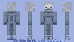 Skeleton waifu Minecraft Skin