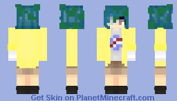 Earth-Chan ✽ 𝐸𝒶𝓇𝓉𝒽 ✽ Minecraft Skin