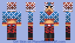 Mista (Vento Aureo) // Anime Colors Minecraft Skin