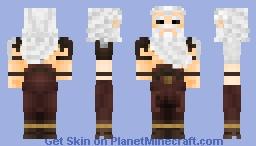 Tyr the God of War Minecraft Skin