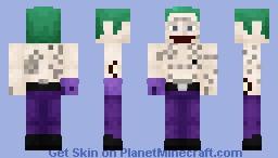Joker - Suicide Squad - Minecraft Skin