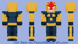 Richard Rider (Nova) Minecraft Skin
