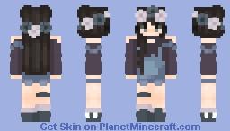 🍑𝓟𝓻𝓮𝓽𝓽𝔂 𝓣𝓮𝓮𝓷🍑 Minecraft Skin