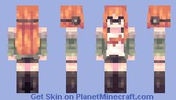 futaba Minecraft Skin