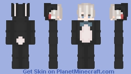 BOY BUNNY [ C h i l e a n ] / Monster but cute.~ Minecraft Skin