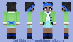 Bow Kid Minecraft Skin
