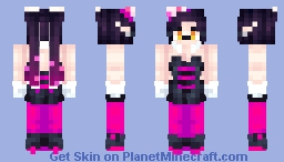 Splatoon- Callie Minecraft Skin