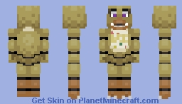 Chica -Five Nights At Freddy's VR: Help Wanted- Minecraft Skin