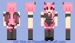 your friendly succubus next door Minecraft Skin