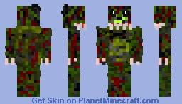 Nightmare SpringTrap Minecraft Skin
