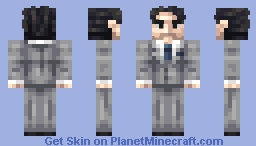 Gray suit - Requests Minecraft Skin