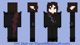 Imrie Ordell - Shadow Mage - Vampire Lord - Robes Edition (Armour Edition In DESC) Minecraft Skin