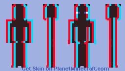 Anaglyph 3D Minecraft Skin