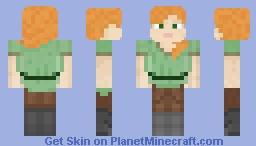 Alex Full Body xD Minecraft Skin