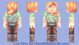 Alex Reloaded Minecraft Skin