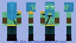 Aegir, jotunn of the sea Minecraft Skin