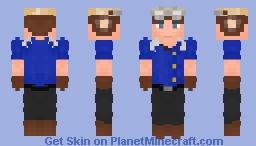 Sam Guthrie | Cannonball | Marvel Minecraft Skin