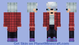 All I want is nothing [Sad Ski remakes skin too much] Minecraft Skin