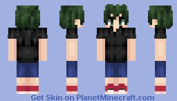 Izuku Midoriya Training Camp Minecraft Skin