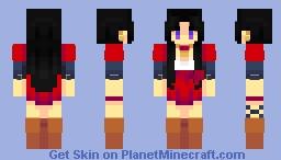 cattleya baudelaire Minecraft Skin