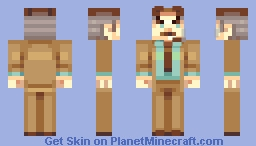J. Jonah Jameson Minecraft Skin