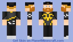 OlofMeister Fnatic Minecraft Skin