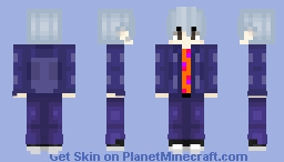 BTS Boy With Luv Suga 3 Minecraft Skin