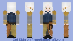 Female sun elf - LoTC Minecraft Skin