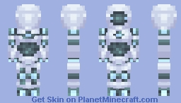 Beep Boop Beep the Robot - CE Minecraft Skin