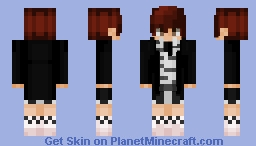Haechan - NCT 127 Cherry Bomb Minecraft Skin