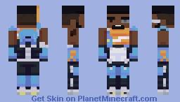 Baptiste - Overwatch (+Alt Skins) Minecraft Skin