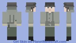 Argentinian Soldier, 1982 - Falklands War Minecraft Skin