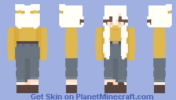 back to you Minecraft Skin