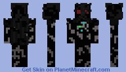 darth vader destroyed Minecraft Skin