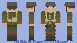 American Soldier WWI Minecraft Skin