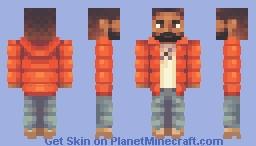 Drake meme Minecraft Skin