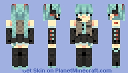 Let's Sing and Dance! Minecraft Skin