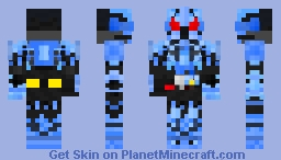 Kamen Rider Grease Blizzard Minecraft Skin