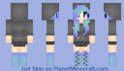❆𝓝𝓲𝓷𝓳𝓪𝓖𝓲𝓻𝓵2024❆ I Haven't Been Sleeping Lately Minecraft Skin