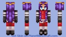oc - nuri elymas (better in 3D) Minecraft Skin