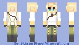 benedict blue Minecraft Skin