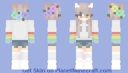 UwU x Minecraft Skin