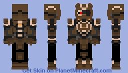 [Warframe] Wolf of Saturn Six Minecraft Skin