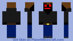 shadow demon 2 Minecraft Skin