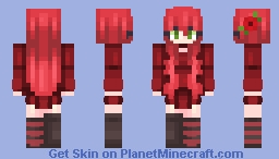 Poppy seeds Minecraft Skin