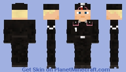 WW2 German Tank Crew (M40 side cap) Minecraft Skin